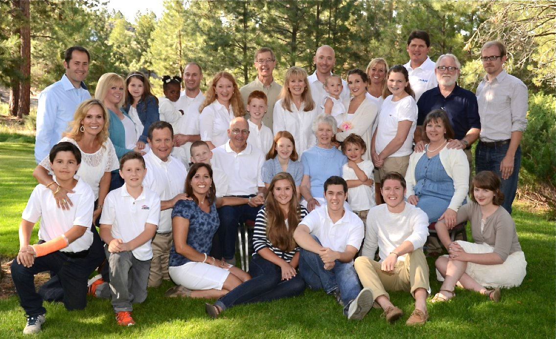 Family in Reunion July 2012